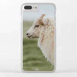 Sheeply in Love - Animal Photography from Iceland Clear iPhone Case