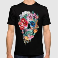 Momento Mori VI LARGE Black Mens Fitted Tee