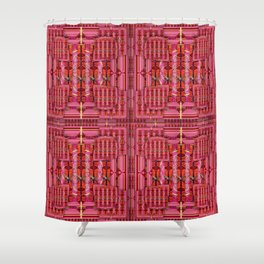 number 172 Shower Curtain