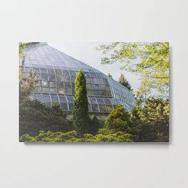 Conservatory - Chicago Photography Metal Print