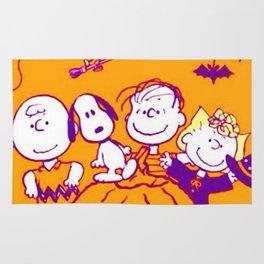 Snoopy Happy Halloween Rug