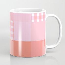 Pixels And Gingham Coffee Mug