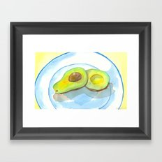 California Avocados Framed Art Print