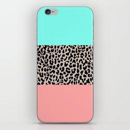 Leopard National Flag VIII iPhone Skin