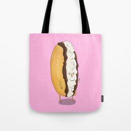 Cream Cake Tote Bag