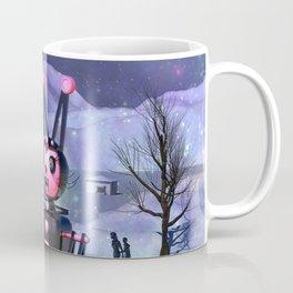 Run From The Giant Robot Rabbit Coffee Mug