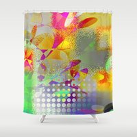holiday Shower Curtains featuring holiday by David Mark Lane