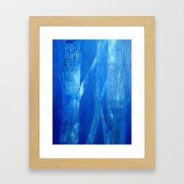 water landscape, nocturnal 2 Framed Art Print