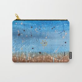FIields of Blue Carry-All Pouch