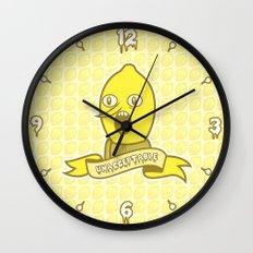 LemonGrunge Wall Clock