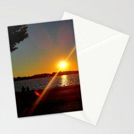 """Sundown On Lake Bde Maka Ska"" Stationery Cards"