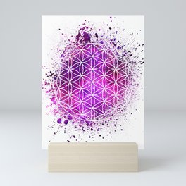 Flower Of Life Sacred Geometry Mini Art Print