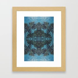 Puzzle Palms  Framed Art Print