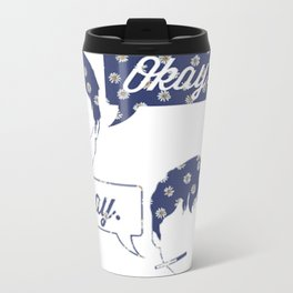 OKAY?OKAY THE FAULT IN OUR STARS TFIOS HAZEL AUGUSTUS CLOUDS SPEECH BUBBLES Travel Mug