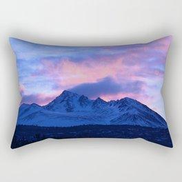 Serenity Rose Sunrise III Rectangular Pillow