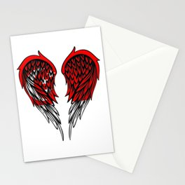 Singapore wings art Stationery Cards
