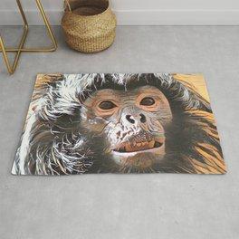 Impressive Animal - Cute little Ape Rug