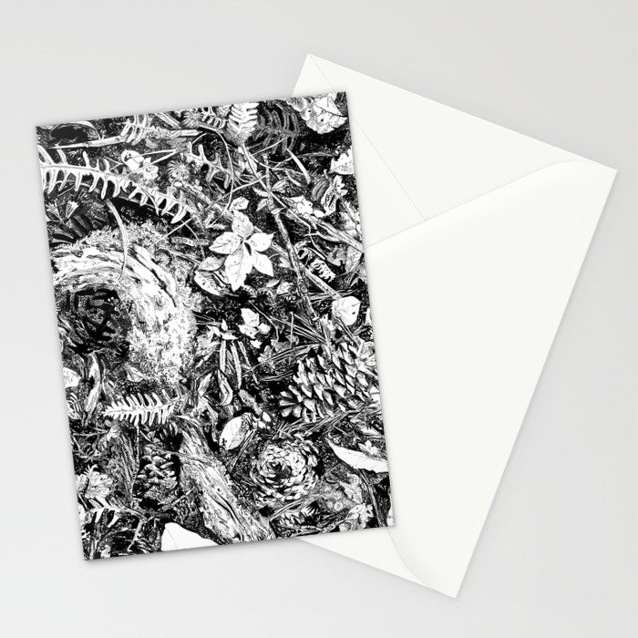 Inky Undergrowth Stationery Cards