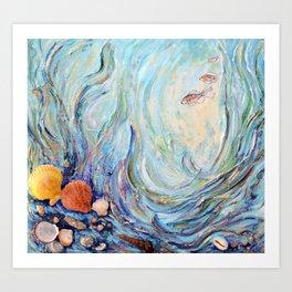 Undersea world Art Print