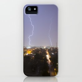 City Lightning. iPhone Case