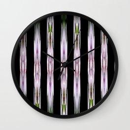 Pink Stars and Stripes Wall Clock