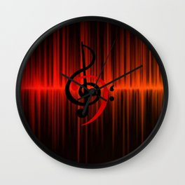 c-sus audio Wall Clock