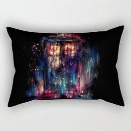 TARDIS Abstract Time Machine Space Travel Rectangular Pillow