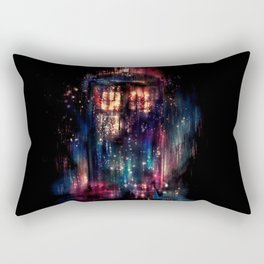 TARDIS Abstract Time Machine Space Travel Rectangular Pillow