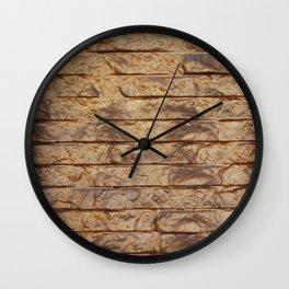 Gold Bars Wall Clock