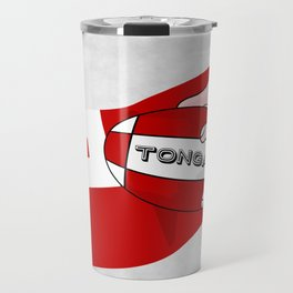 Tonga Rugby Flag Travel Mug