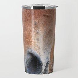 Close-up of a horse Travel Mug