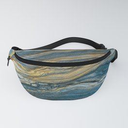 Colorfull stone in section Fanny Pack