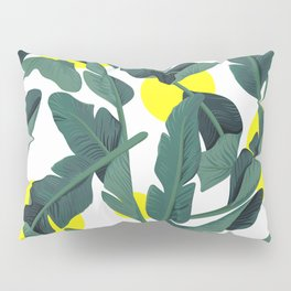 Tropical '17 - Fresh [Banana Leaves] Pillow Sham