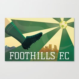Foothills F.C. Canvas Print