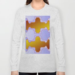 Copper plates pattern Long Sleeve T-shirt