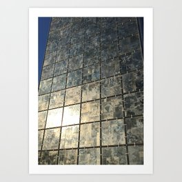 Mirror Glass Art Print