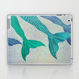 Glistening Mermaid Tails Laptop & iPad Skin