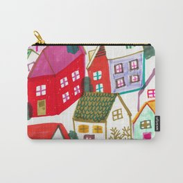bright, bright houses Carry-All Pouch