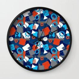 Ungeometric Wall Clock
