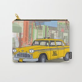 NEW YORK CAB Carry-All Pouch
