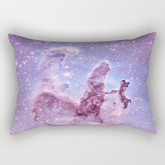 Subtle Space : Pillars of Creation Nebula Rectangular Pillow