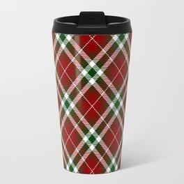 Holiday Plaid 2 Travel Mug