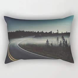 Midnight Mist Rectangular Pillow