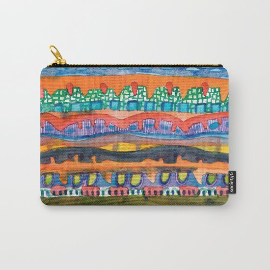 City On The Edge Of The Desert  Carry-All Pouch