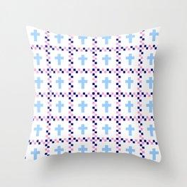 Christian Cross 44 Throw Pillow