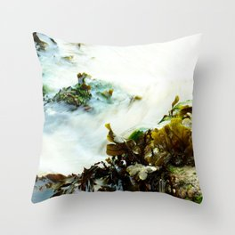 Sea Flow Throw Pillow