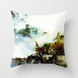 Sea Flow Throw Pillow