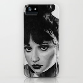 Zoe iPhone Case