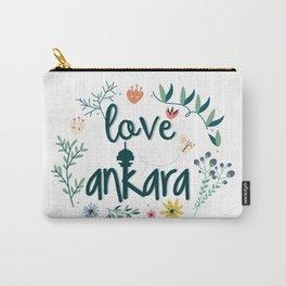 I love Ankara Carry-All Pouch