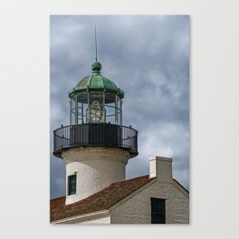 Cabrillo Lighthouse Tower Canvas Print